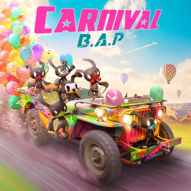 B.A.P 5th mini album 'CARNIVAL' cover image BAP CARNIVAL